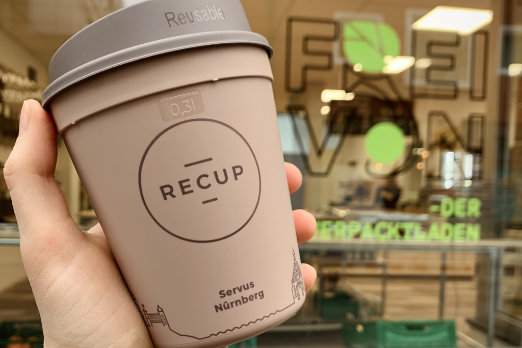 Recup: Pfandsystem für Coffee-to-go